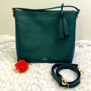 Kate Spade pebbled leather bag. LOVELY!♠️